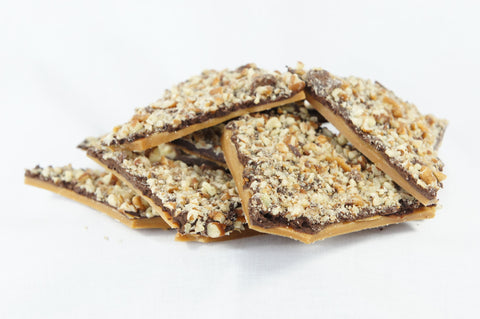 Pecan Dark Chocolate Toffee