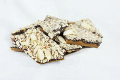 Almond Dark Chocolate Toffee