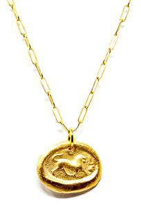 Small Lioness Necklace