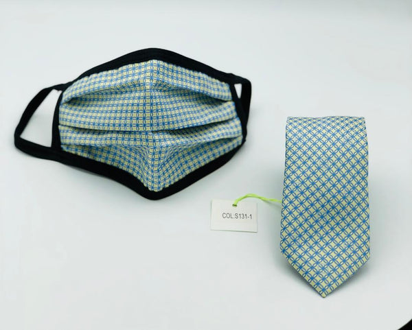 Face Mask & Tie Set S131-1