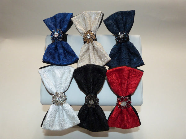 JEWEL BOW TIE - 6COLORS