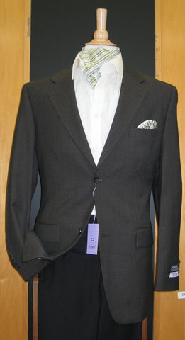 2 Button Wool and Cashmere Brown Sport Coat SJ2E-183