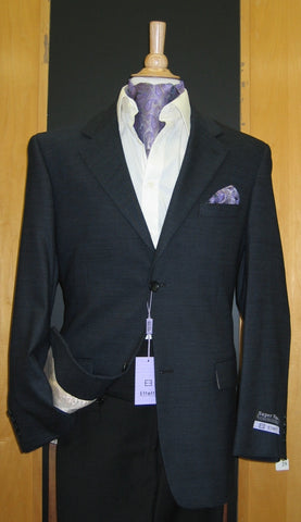 2 Button Wool and Cashmere Navy Sport Coat SJ2E-291