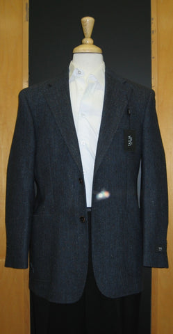 Tallia 2 Button Half Lined Patch Pocket Navy Sport Jacket