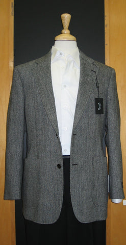 Tallia 2 Button Half Lined Patch Pocket Grey Sport Jacket