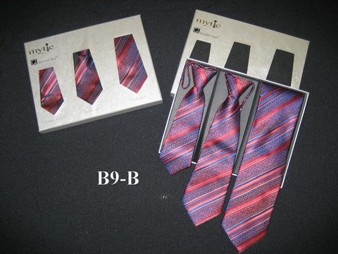 Mytie Father and Sons Matching Ties Set B9-B