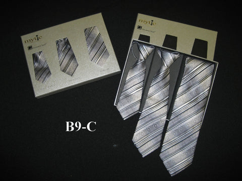 Mytie Father and Sons Matching Ties Set B9-C