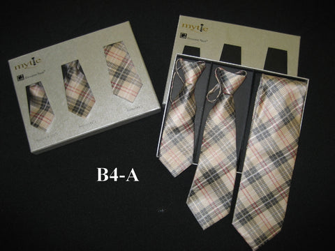 Mytie Father and Sons Matching Ties Set B4-A