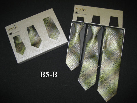 Mytie Father and Sons Matching Ties Set B5-B