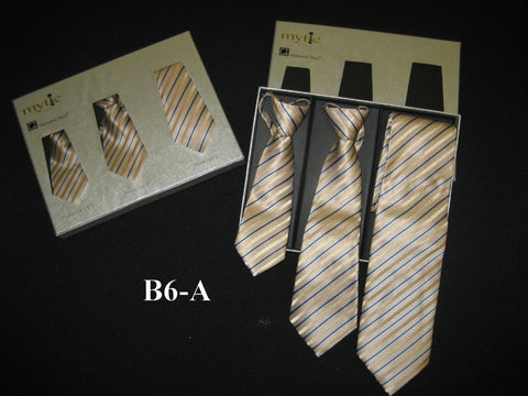 Mytie Father and Sons Matching Ties Set B6-A
