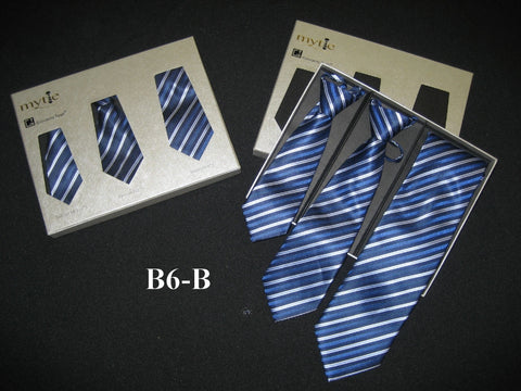 Mytie Father and Sons Matching Ties Set B6-B