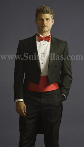 Tuxedo with Tails Center Vented and Flat Front Pants TUX-TAILS