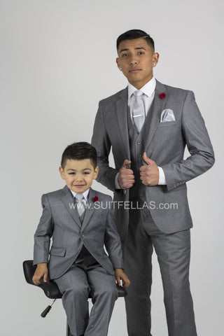 Mytie Father and Sons Matching Ties Set B7-A