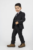 5 piece Kid's Suit Black KID-4030