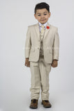 5 piece Kid's Suit Sand KID-4030