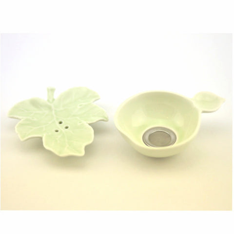 Handmade Leaf Shape Tea Strainer