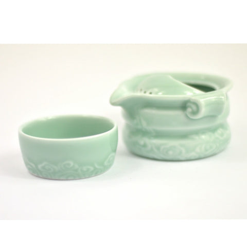 Longquan Celadon Tea Pot