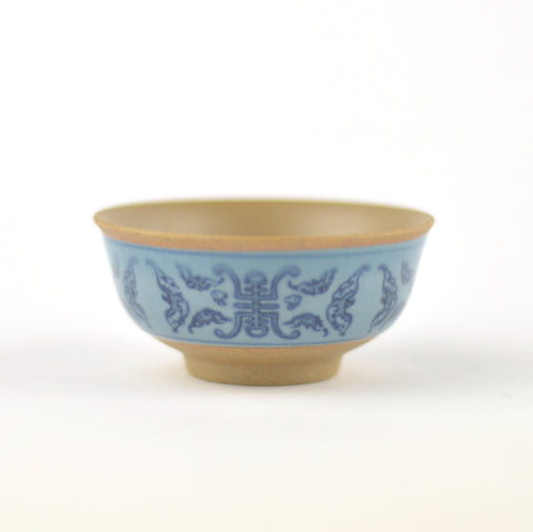 CRAZING BLUE CHINESE TEA CUP