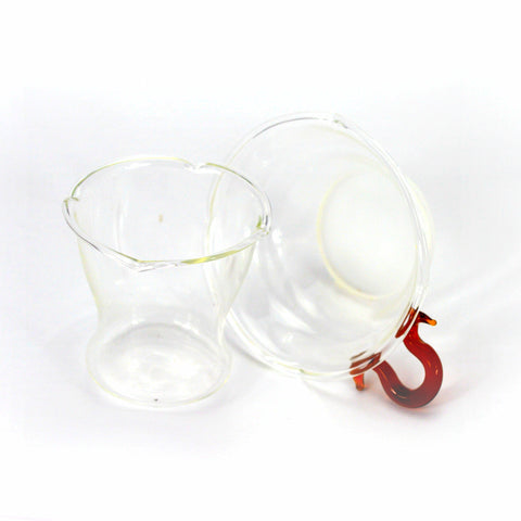 Glass Tea Strainer Set