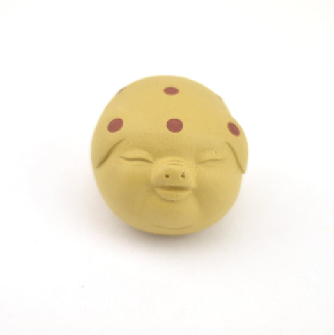 Tea Pet - Earth Color Lucky Pig
