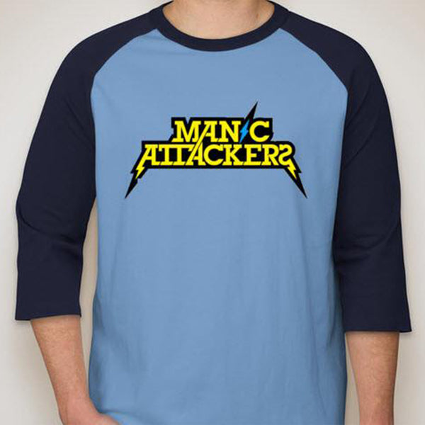 Manic Attackers Baseball Shirt