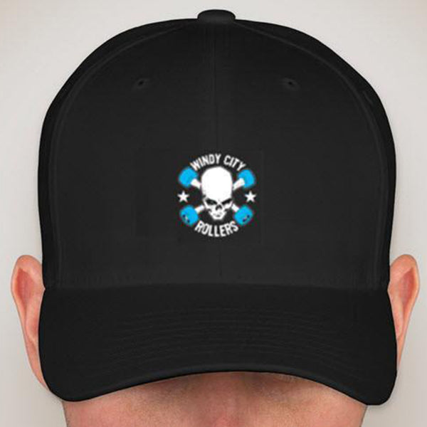 Baseball Hat with Windy City Rollers Embroidered Logo
