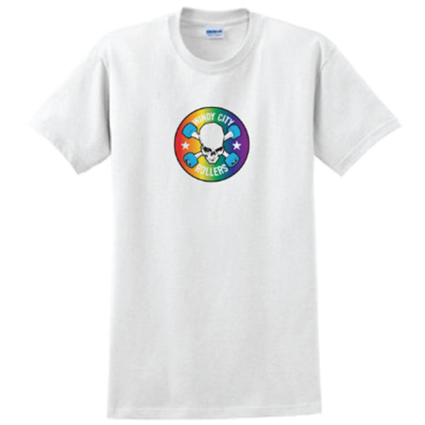 SALE! PRIDE Logo Men's T-Shirt - White