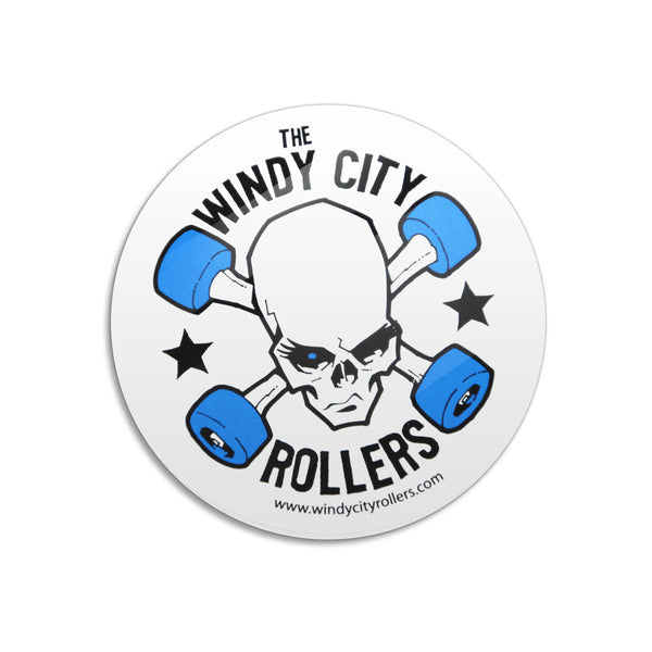 SALE! Windy City Rollers Logo Car Magnet
