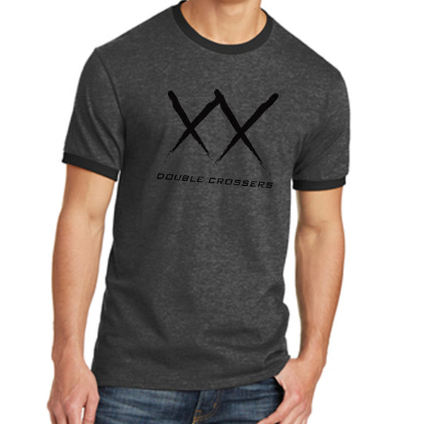 Double Crossers Ringer Tee