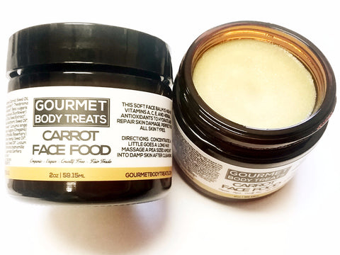 Carrot Face Food - Gourmet Body Treats