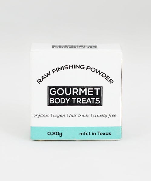 Raw Finishing Powder
