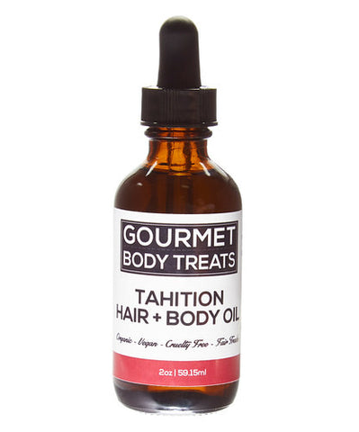 Tahitian Hair + Body Oil - Gourmet Body Treats