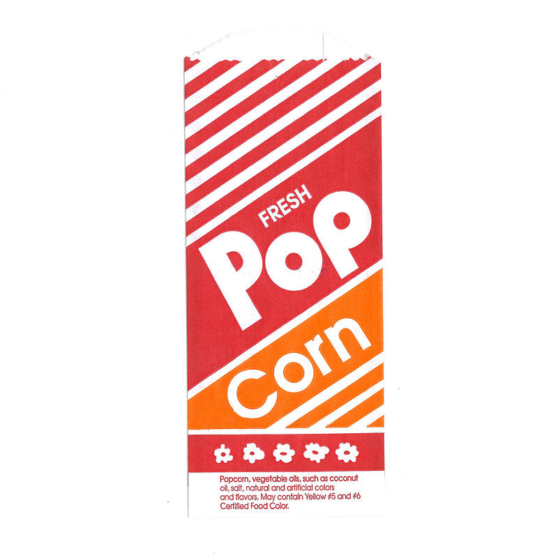 Paper Popcorn Bags- 1 ounce