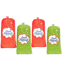 Christmas Colored Popcorn 4- Pack (72 Cups Per Case)