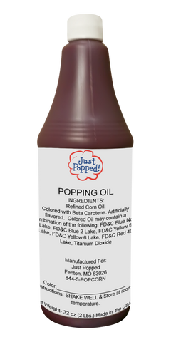 Colored Popping Oils