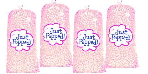 4 Pack Colored Popcorn