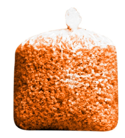 Bulk Orange Halloween Colored Theater Butter Popcorn Bulk Party Bag (175 Cups per Case)