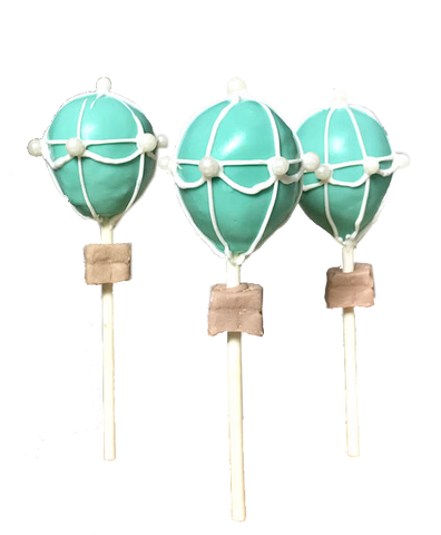 Hot Air Balloon Cake Pops, Up Up and Away!