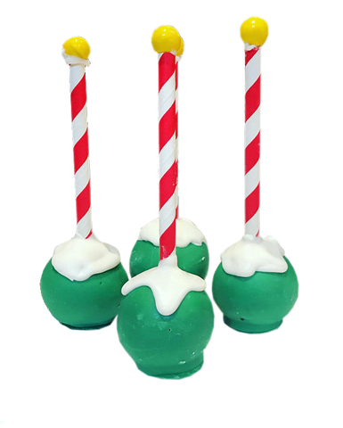 North Pole Cake Pops - Christmas