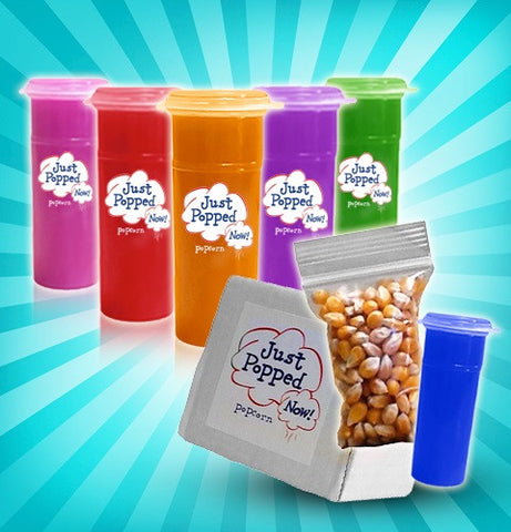 Instant Colored Popcorn Kits