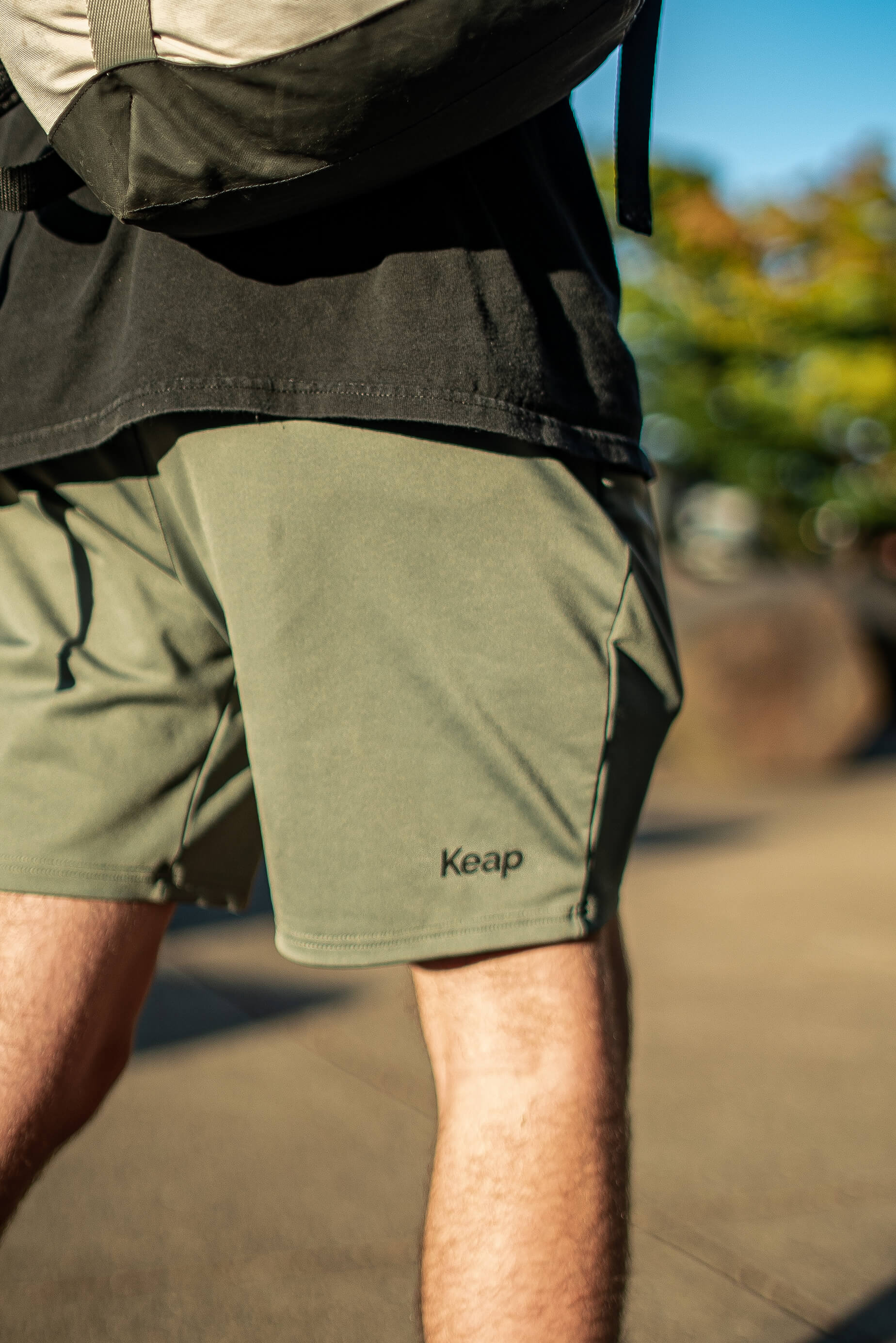 Men's all-purpose shorts with pockets