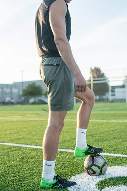 soccer shorts with pockets
