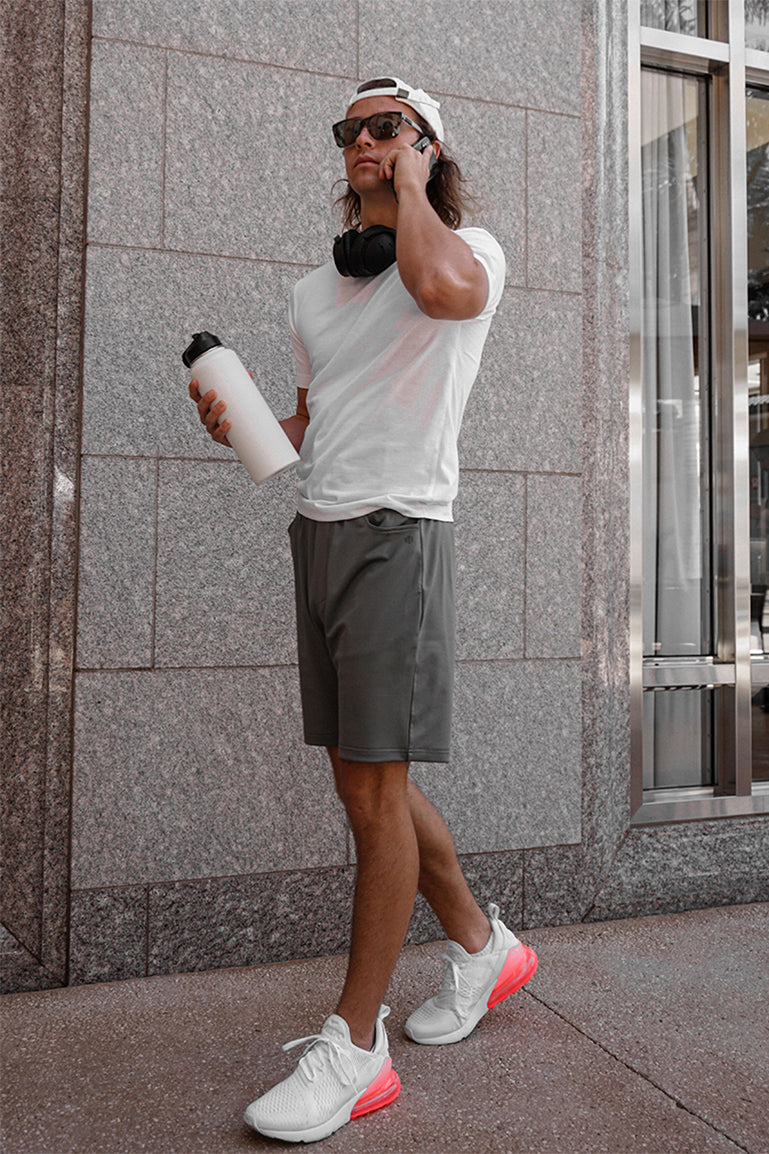 Men's Spring Shorts with Pockets