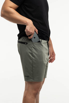 Active Short with pockets