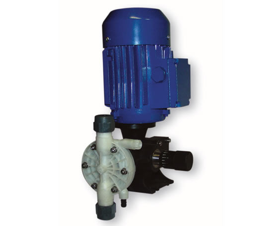 This is how a motor driven diaphragm pump operates!