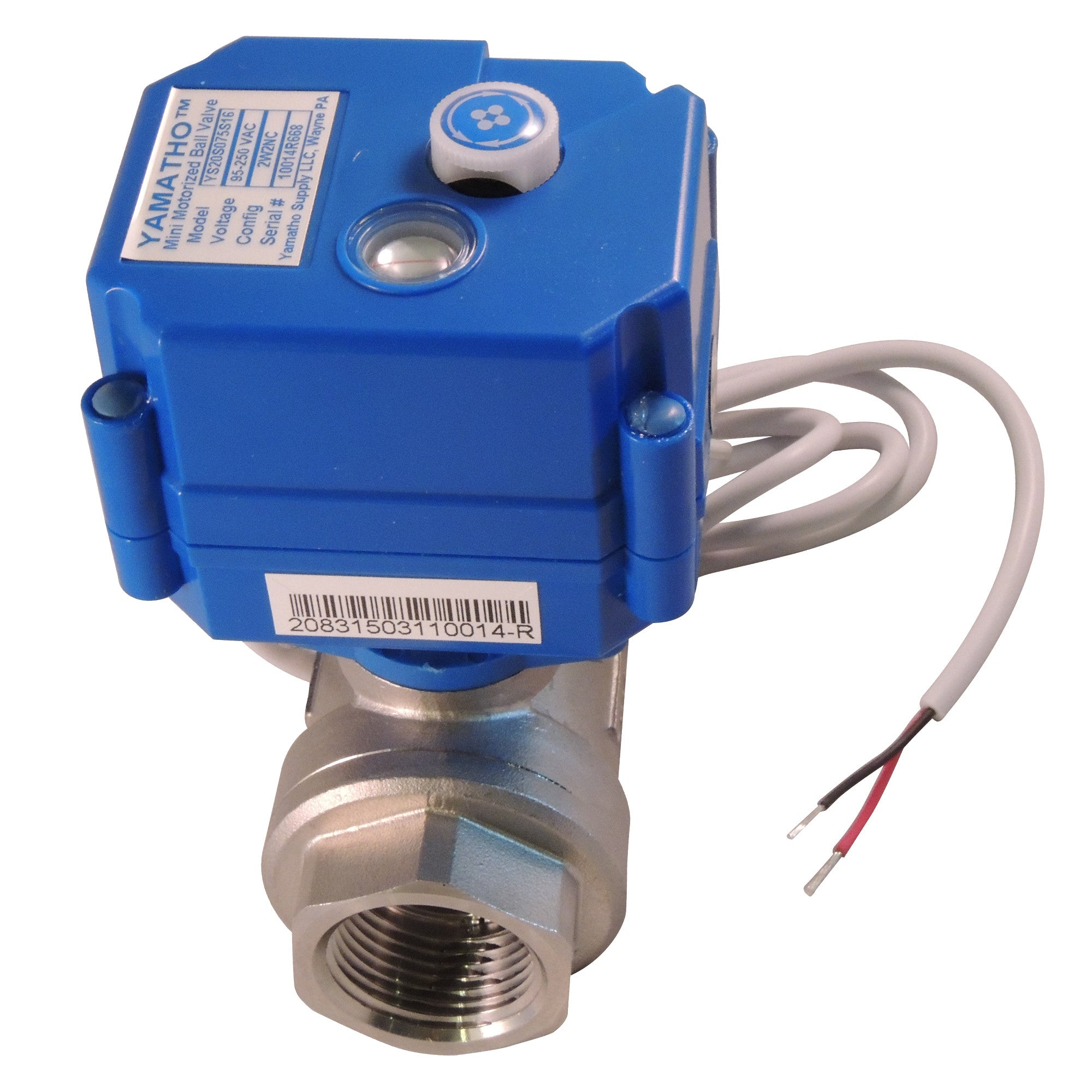 Front Page 2 Wire Actuator Wiring Electric Ball Valve Ys20skt2s Wires W Position Elec Ind Normally Closed 24 Vdc Yamavalve