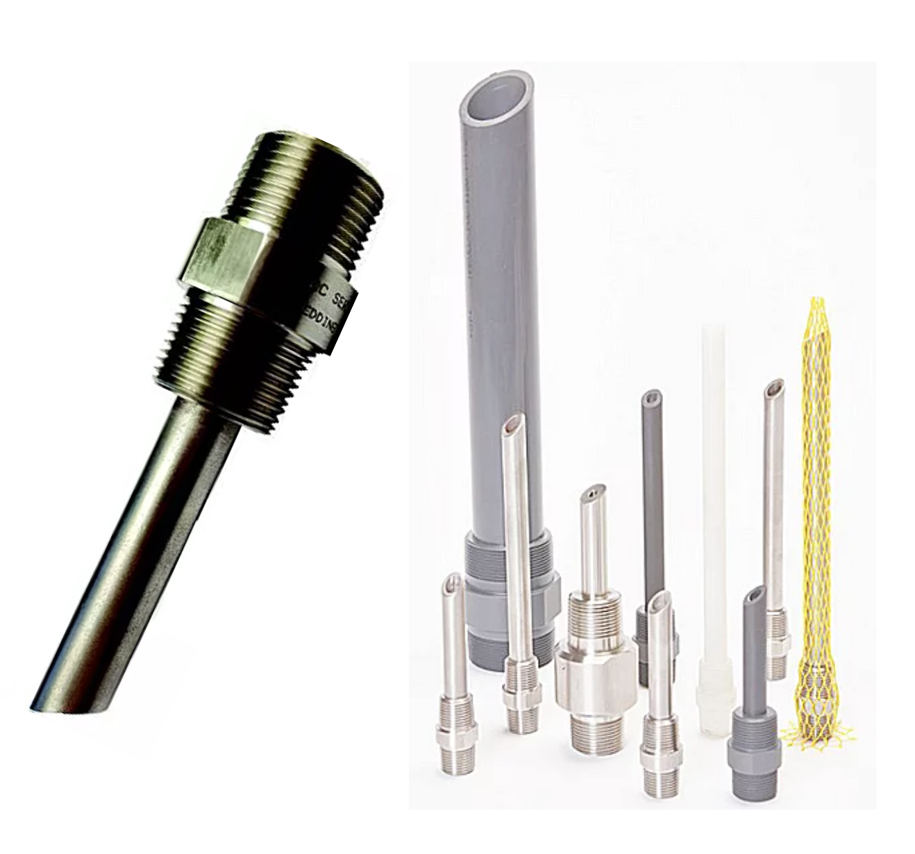"High pressure chemical injection quill, 1/2"" to 1"", SS316, CPVC, Kynar, Hastelloy C276, Alloy 20,  single - Yamatho Supply"