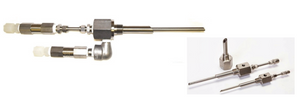 "Duplex chemical injection quill, 1/2"" to 1"", SS316 with or without check valve - Yamatho Supply"