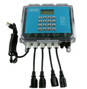 Boiler blowdown, conductivity controller Lakewood Instruments model 1575e., controller only p/n 1229239