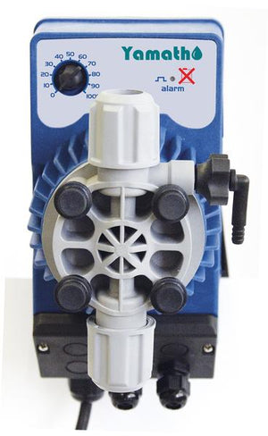 Chemical injection pump SEKO AML 200 0.8 GPH max @ 145 psi with PVDF liquid end ( AML200 )